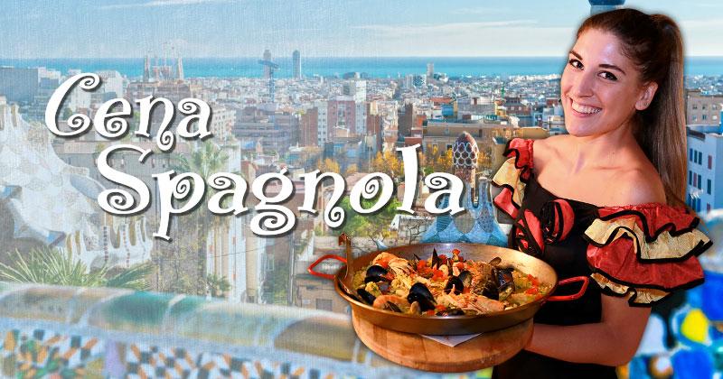 Lasciati conquistare da un trionfo di sapori con la Cena Spagnola del Fuorirotta!