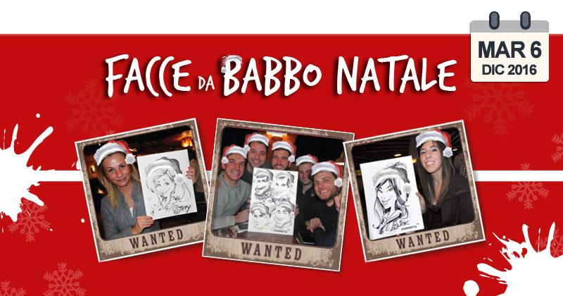 Volete trasformarvi in Santa Claus per una sera? Venite alla Serata Facce da Babbo Natale del Fuorirotta!