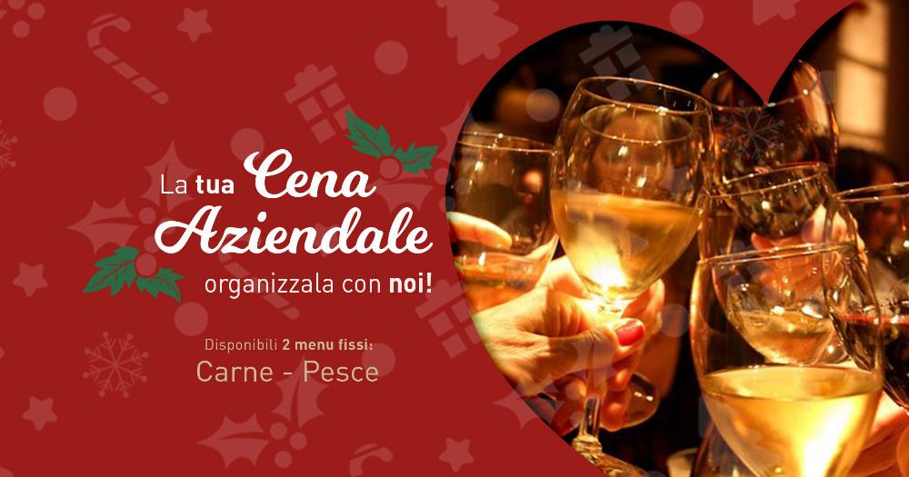 Sei alla ricerca di un locale dove organizzare la cena aziendale di Natale? Vieni al Fuorirotta!