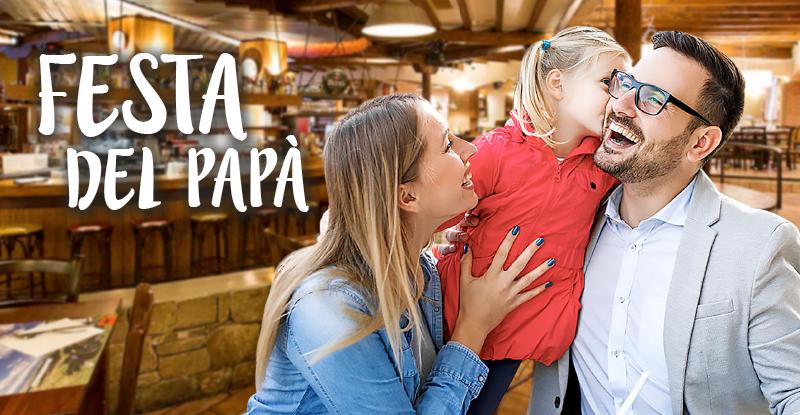 Cari papà, vi aspettiamo al Fuorirotta con i vostri figli per celebrare la festa del papà alla grande!