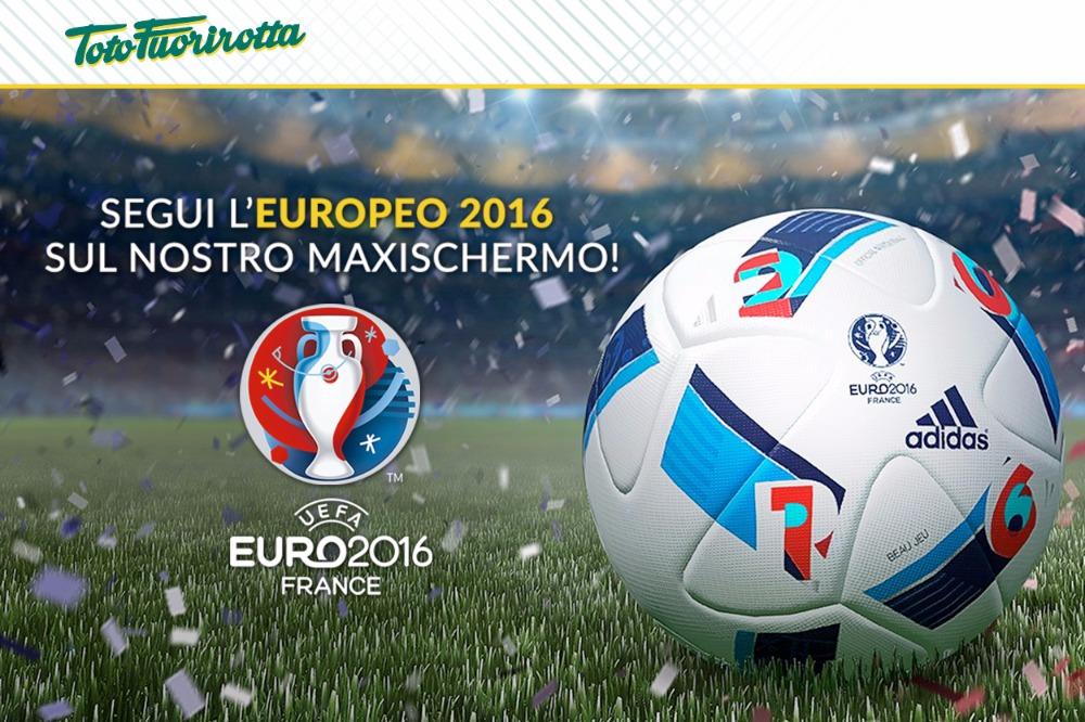 Vivi gli Europei di calcio sul Maxischermo HD del Fuorirotta!