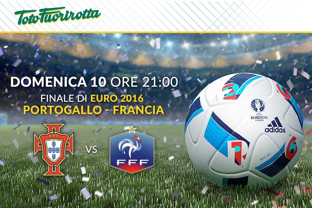 Segui la finale degli Europei tra Portogallo e Francia sul Maxischermo HD del Fuorirotta!