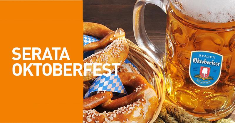 Non c'è bisogno di arrivare fino a Monaco di Baviera: l'Oktoberfest è al Fuorirotta!