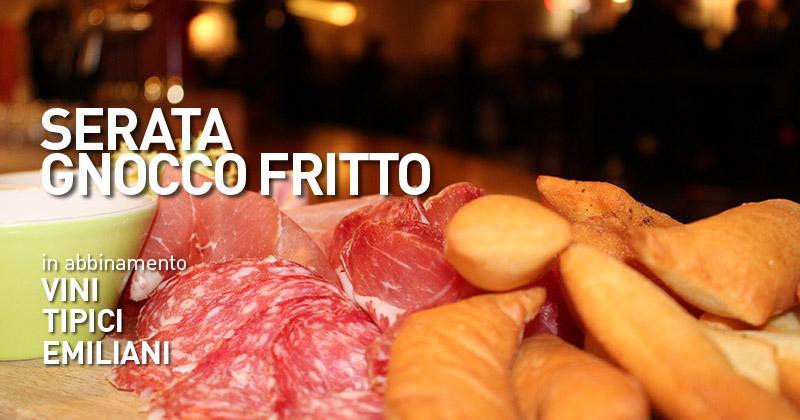 Non perderti la Serata Gnocco Fritto al Fuorirotta e gustati una cena in pieno stile emiliano!
